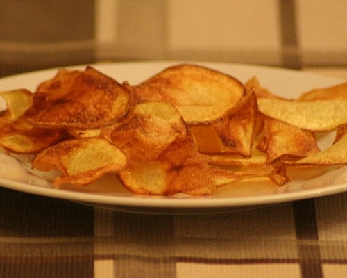 Patate chips fritte